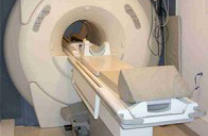 [Image of a diagnostic imaging machine] Click the button below for diagnostic services information