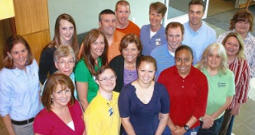 [Image of the physical therapy staff at the Church Street PT Campus]