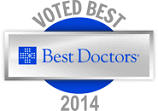 [Image of logo for Best Doctors 2014]