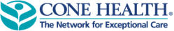 [Image of Cone Health logo]