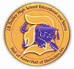 [Image of Dudley High School Sports and Education Hall of Fame Award symbol]